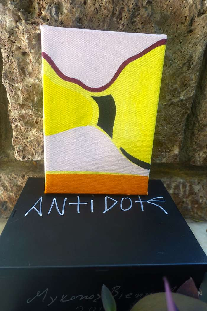 Mykonos Biennale  -  Antidote Box - screen shot