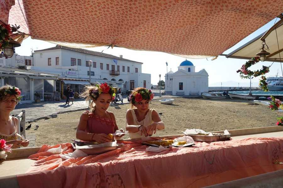 Mykonos Biennale -  - The Flower Girls